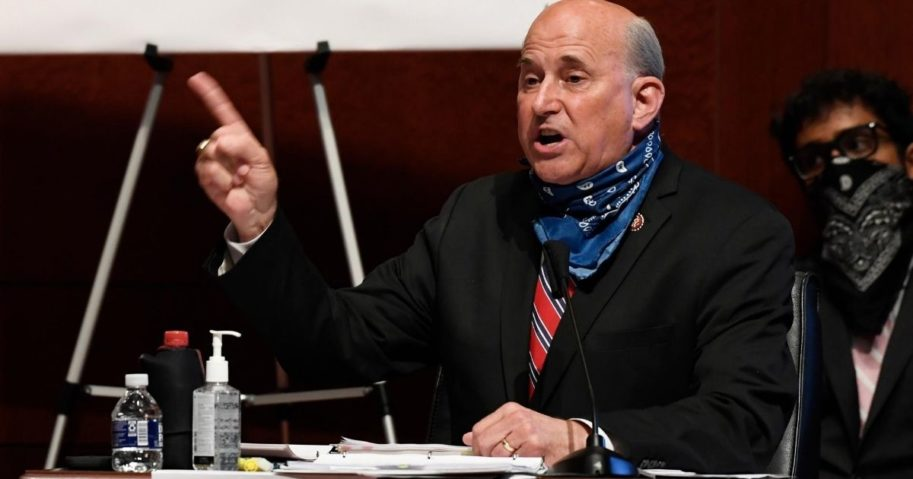 Texas Republican Rep. Louie Gohmert speaks during a House Judiciary Committee hearing on Capitol Hill in Washington on June 24, 2020.