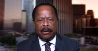 "Civil rights attorney Leo Terrell appears on the ""Hannity"" program on Monday."