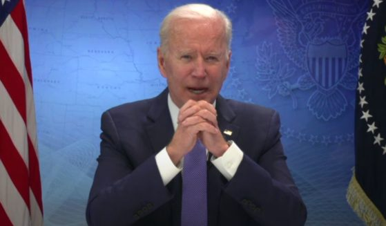 """President Joe Biden on Tuesday twice forgot to use the word """"New"""" when referring to the state of New Mexico while speaking with governors from across the country during a video teleconference."""