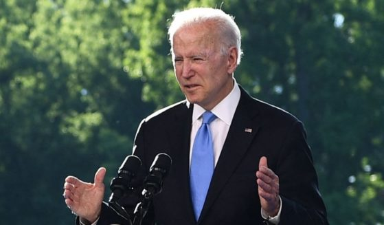 President Joe Biden speaks during a news conference after the U.S.-Russia summit in Geneva on Wednesday.