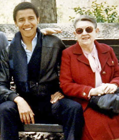 obama 7 barrack obama and his granmother madeline dunham The Mystery of Barack Obama Continues
