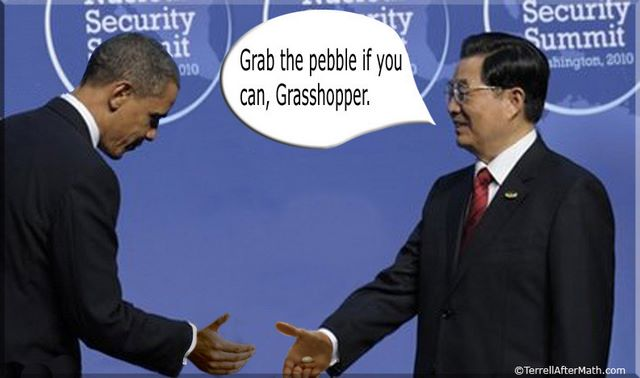 Obama Bows to China SC Obama is letting China buy our energy fields; is your state on this list?