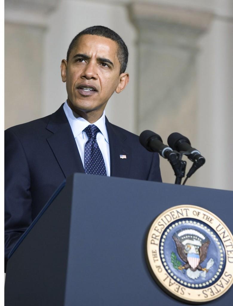 Obama Presidential Seal Podium Speech SC 780x1024 Justice Served to Obama