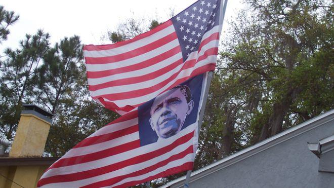 obama flag democrat How Soviet Immigrants Made Fools Out Of Communist Democrats