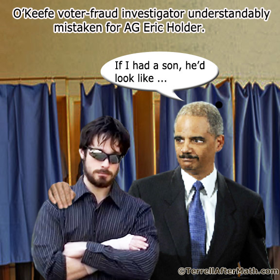 Holder Son Vote Fraud SC Open Doors to Stolen Elections