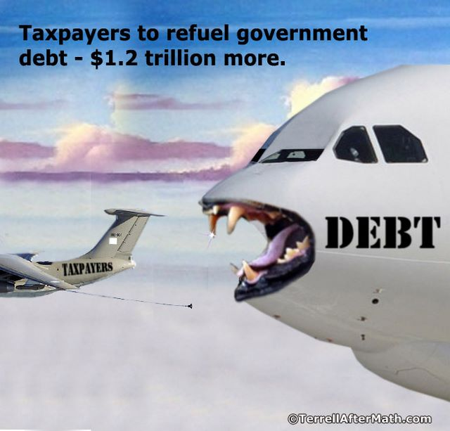 Taxpayers To Refuel Government Debt 1.2 Trillion More SC Another fake debt ceiling fight on the horizon?
