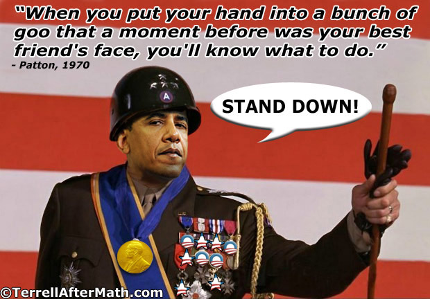 General Obama Forward Stand Down SC An update on Obama's personal army...