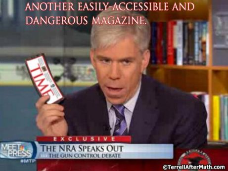 David Gregory Time Magazine Gun Control SC Idiots Against Guns