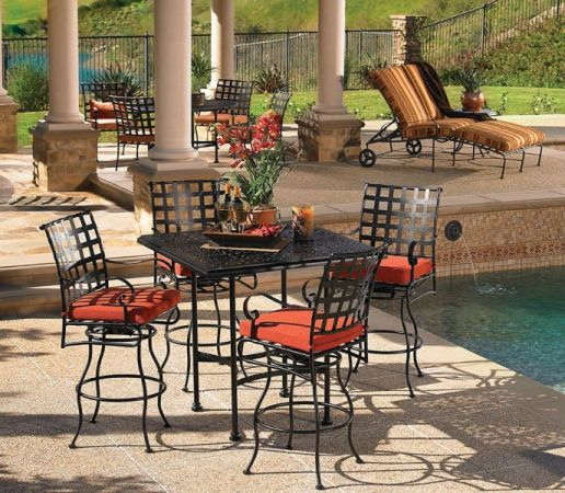 Western    Wrought Iron Patio Furniture OW Lee    Classico