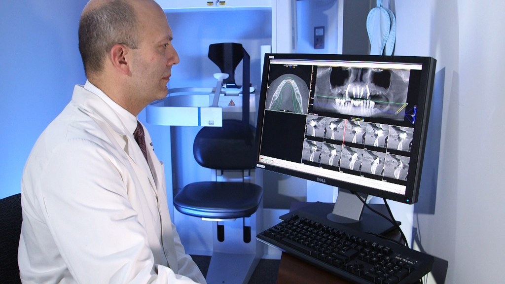 dr. krakora uses advanced surgical technology to place implants