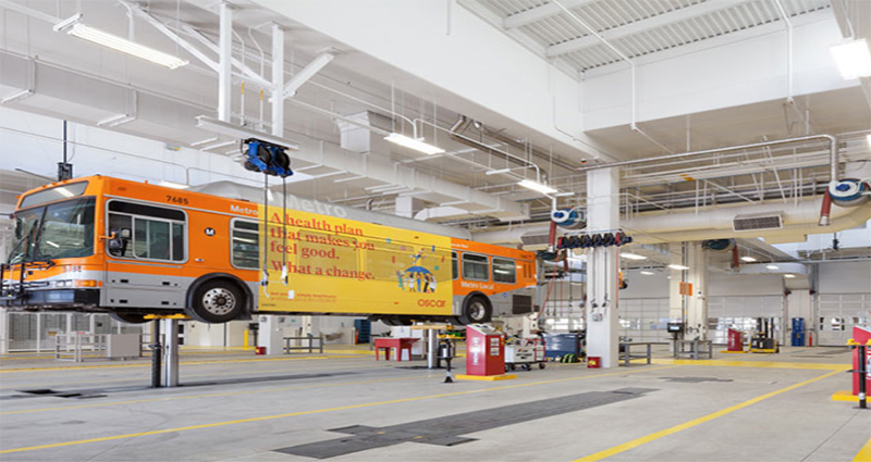 Metro Division 13 Bus Maintenance & Operations Facility (Los Angeles, California)