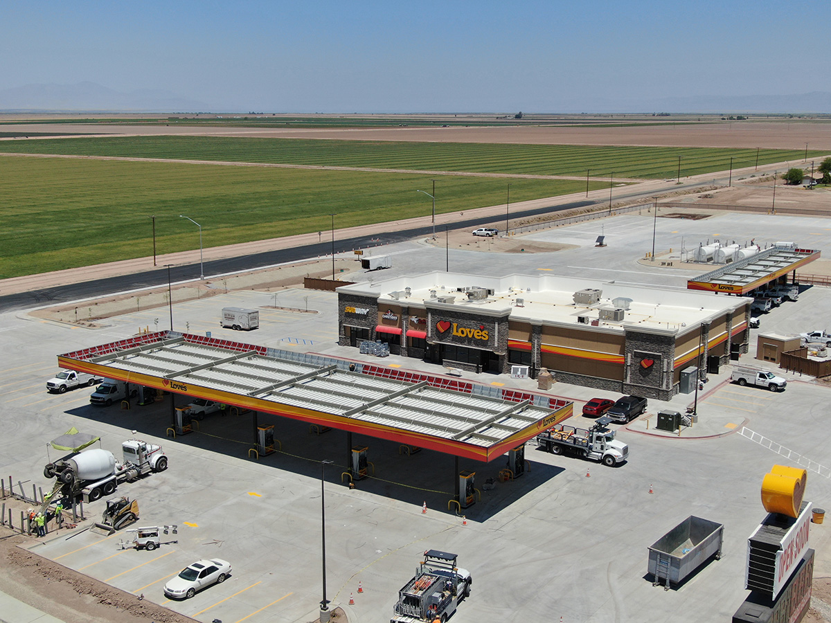 LOVE's TRAVEL STOP #749 Project   Western Pump