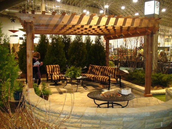 garden cedar pergola plans
