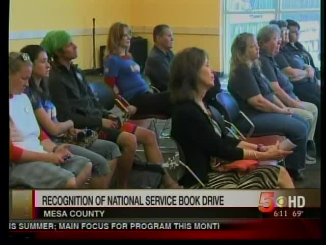 Local Book Drive Begins Tuesday to Recognize National Servic_3701260715835346877