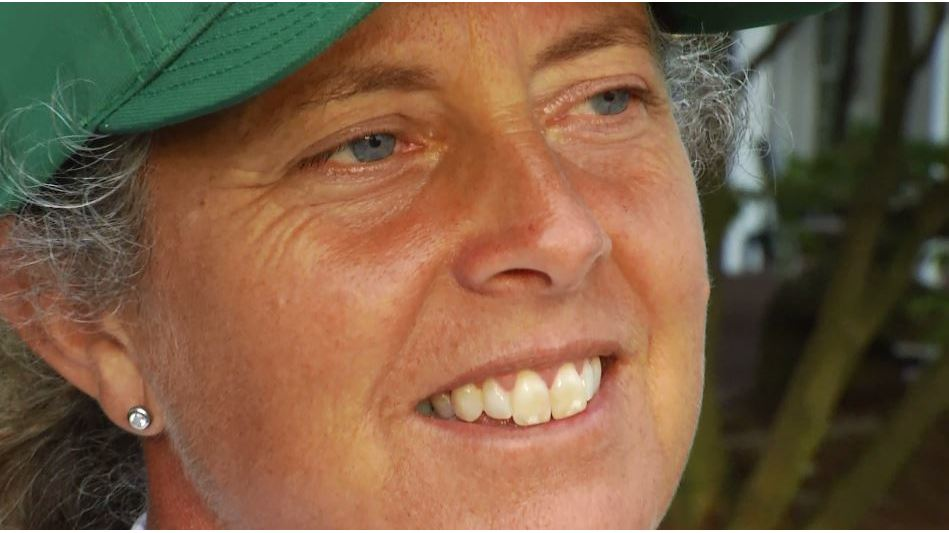 Fanny Sunesson, a caddy unlike any other