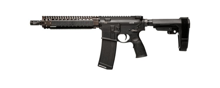 Daniel Defense MK18 Pistol FDE