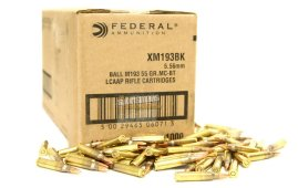 XM193 Bulk Ammunition 5.56