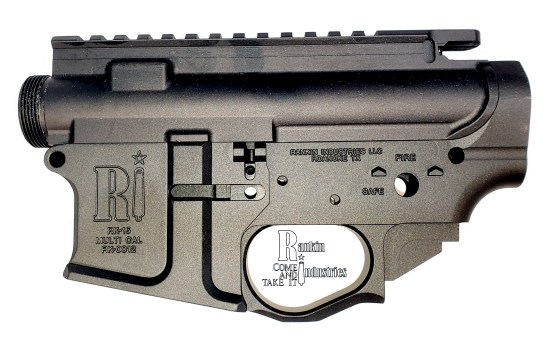 Upper and Lower AR-15 Billet Machined Set