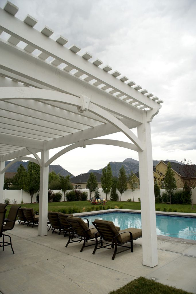 14 Wonderfully White Outdoor Shade Structures Western
