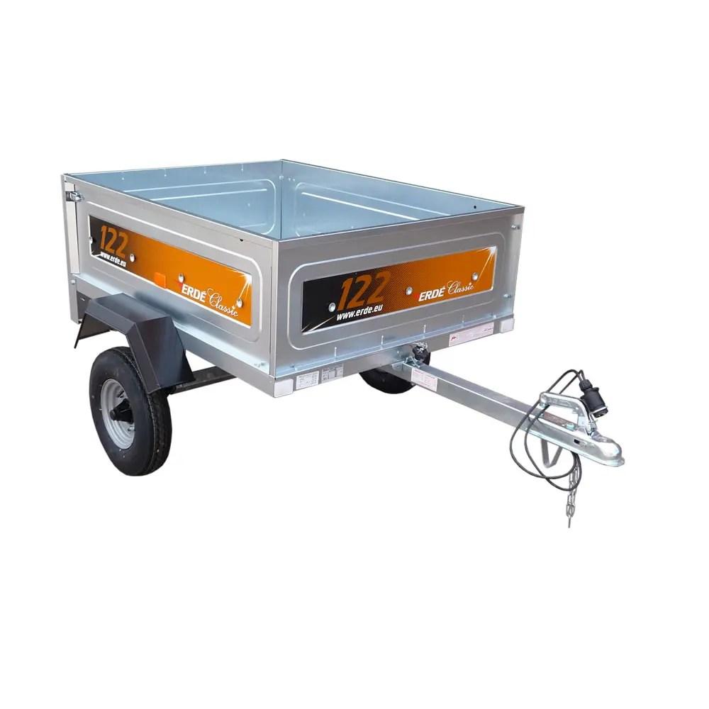 Erde model 122 light goods trailer