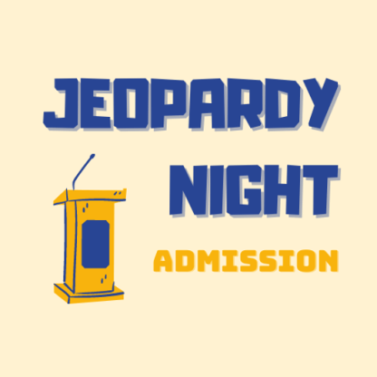 WPA Jeopard Night Admission