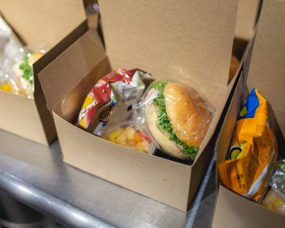 Charity Lunch - Turkey Sandwich Box