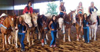 Cowgirl Chicks Entertain Wish Kids