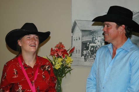 Kelly with Clay Walker