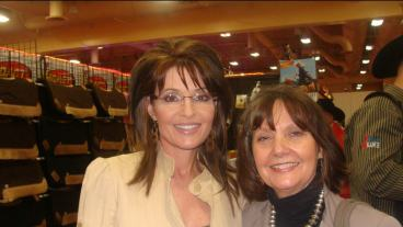 Sarah Palin and Donnalyn Quintana