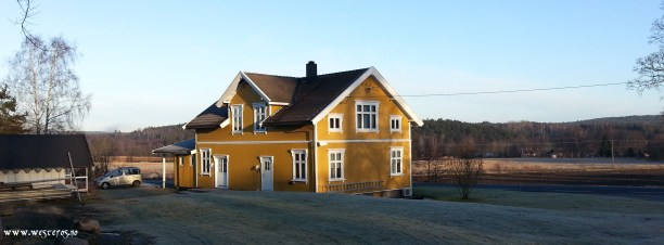 Our new home! Holmgaard outside Fredrikstad. Lots of plans for catruns, garage and more ...