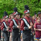 The Westford Academy Marching Band.
