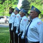 The Nabnasset American Legion Honor Guard.