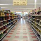 Non-perishable items are still in stock for the most part.