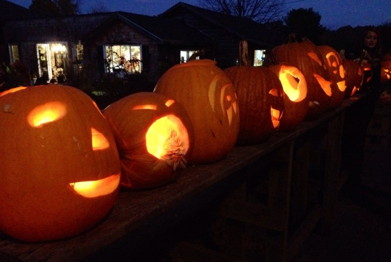 CNS Mustardseed was busy with pumpkin carving this weekend. (courtesy photo)