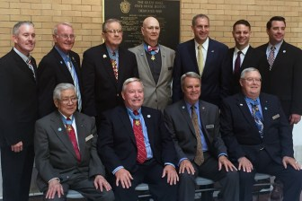 Pictured are members of the Joint Committee on Veterans Affairs and some of the Medal of Honor recipients. (courtesy - Office of James Arciero)