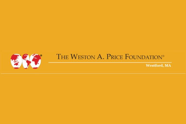Weston A Price Foundation