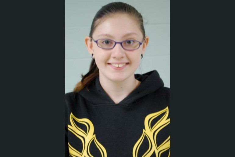 Nashoba Tech sophomore of Melynda Barlow of Chelmsford advanced to the final round of the Massachusetts Letters About Literature Competition, finishing in the top 5 percent of entrants and earning an honorable mention. (courtesy Dan Phelps)