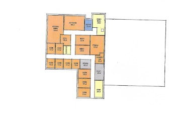 Second floor diagram of the proposed Boston Road Fire Station from Feb. 29, 2016