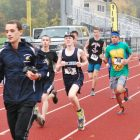 Runners take off at the start of last year's Friends of Nashoba Haunted 5K. COURTESY PHOTO