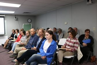 "An overflowing crowd filled the meeting room inside the Millennium Building at the Oct. 23 School Committee meeting. <div style=""width: 100%;"" class=""ml-slider-3-7-2 metaslider metaslider-flex metaslider-15591 ml-slider nav-hidden"">     <style type=""text/css"" id=""metaslider-css-15591"">         #metaslider_15591.flexslider .slides li {margin-right: 5px !important;}     </style>     <div id=""metaslider_container_15591"">         <div id=""metaslider_15591"" class=""flexslider"">             <ul class=""slides"">                 <li style=""display: none; width: 100%;"" class=""slide-15604 ms-image""><img src=""http://www.westfordcatnews.org/wp-content/uploads/2017/10/IMG_4656-900x600.jpg"" height=""600"" width=""900"" alt="""" class=""slider-15591 slide-15604"" /><div class=""caption-wrap""><div class=""caption"">The meeting room inside the Millennium Building was jammed with supporters and opponents of the School Committee's Student Gender Policy on Oct. 23. PHOTO BY JOYCE PELLINO CRANE</div></div></li>                 <li style=""display: none; width: 100%;"" class=""slide-15605 ms-image""><img src=""http://www.westfordcatnews.org/wp-content/uploads/2017/10/IMG_4658-900x600.jpg"" height=""600"" width=""900"" alt="""" class=""slider-15591 slide-15605"" /><div class=""caption-wrap""><div class=""caption"">Westford Academy Student Counsel members Steven McMaster (left) and Gareth Owens attended the meeting. PHOTO BY JOYCE PELLINO CRANE</div></div></li>                 <li style=""display: none; width: 100%;"" class=""slide-15606 ms-image""><img src=""http://www.westfordcatnews.org/wp-content/uploads/2017/10/IMG_4661-900x600.jpg"" height=""600"" width=""900"" alt="""" class=""slider-15591 slide-15606"" /><div class=""caption-wrap""><div class=""caption"">Assistant Superintendent Kerry Clery, Superintendent Everett V. Olsen, and School Committee Chairman Terry Ryan listen intently. PHOTO BY JOYCE PELLINO CRANE</div></div></li>                 <li style=""display: none; width: 100%;"" class=""slide-15607 ms-image""><img src=""http://www.westfordcatnews.org/wp-content/uploads/2017/10/IMG_4674-900x600.jpg"" height=""600"" width=""900"" alt="""" class=""slider-15591 slide-15607"" /><div class=""caption-wrap""><div class=""caption"">Kathy Lynch seeks clarification on the Student Gender Policy. PHOTO BY JOYCE PELLINO CRANE</div></div></li>                 <li style=""display: none; width: 100%;"" class=""slide-15608 ms-image""><img src=""http://www.westfordcatnews.org/wp-content/uploads/2017/10/IMG_4684-900x600.jpg"" height=""600"" width=""900"" alt="""" class=""slider-15591 slide-15608"" /><div class=""caption-wrap""><div class=""caption"">A father of an elementary school child expresses his concerns. PHOTO BY JOYCE PELLINO CRANE</div></div></li>                 <li style=""display: none; width: 100%;"" class=""slide-15609 ms-image""><img src=""http://www.westfordcatnews.org/wp-content/uploads/2017/10/IMG_4694-900x600.jpg"" height=""600"" width=""900"" alt="""" class=""slider-15591 slide-15609"" /><div class=""caption-wrap""><div class=""caption"">Medha Palnati advocates for the Transgender Student Policy. PHOTO BY JOYCE PELLINO CRANE</div></div></li>                 <li style=""display: none; width: 100%;"" class=""slide-15610 ms-image""><img src=""http://www.westfordcatnews.org/wp-content/uploads/2017/10/IMG_4698-900x600.jpg"" height=""600"" width=""900"" alt="""" class=""slider-15591 slide-15610"" /><div class=""caption-wrap""><div class=""caption"">Suzanne Eaton is visibly upset after recalling her relationship with a transgender partner. PHOTO BY JOYCE PELLINO CRANE</div></div></li>                 <li style=""display: none; width: 100%;"" class=""slide-15611 ms-image""><img src=""http://www.westfordcatnews.org/wp-content/uploads/2017/10/IMG_4700-900x600.jpg"" height=""600"" width=""900"" alt="""" class=""slider-15591 slide-15611"" /><div class=""caption-wrap""><div class=""caption"">Matthew McQuinn. PHOTO BY JOYCE PELLINO CRANE</div></div></li>                 <li style=""display: none; width: 100%;"" class=""slide-15612 ms-image""><img src=""http://www.westfordcatnews.org/wp-content/uploads/2017/10/IMG_4705-900x600.jpg"" height=""600"" width=""900"" alt="""" class=""slider-15591 slide-15612"" /><div class=""caption-wrap""><div class=""caption"">Uri Blumenthal objected to the policy. PHOTO BY JOYCE PELLINO CRANE</div></div></li>                 <li style=""display: none; width: 100%;"" class=""slide-15613 ms-image""><img src=""http://www.westfordcatnews.org/wp-content/uploads/2017/10/IMG_4713-900x600.jpg"" height=""600"" width=""900"" alt="""" class=""slider-15591 slide-15613"" /><div class=""caption-wrap""><div class=""caption"">School Committee member Megan Eckroth (left) fields criticism as Alicia Mallon listens. PHOTO BY JOYCE PELLINO CRANE</div></div></li>                 <li style=""display: none; width: 100%;"" class=""slide-15614 ms-image""><img src=""http://www.westfordcatnews.org/wp-content/uploads/2017/10/IMG_4715-900x600.jpg"" height=""600"" width=""900"" alt="""" class=""slider-15591 slide-15614"" /><div class=""caption-wrap""><div class=""caption"">Craig Kevghas registers his disapproval of School Committee member Megan Eckroth's statement. PHOTO BY JOYCE PELLINO CRANE</div></div></li>                 <li style=""display: none; width: 100%;"" class=""slide-15615 ms-image""><img src=""http://www.westfordcatnews.org/wp-content/uploads/2017/10/IMG_4719-900x600.jpg"" height=""600"" width=""900"" alt="""" class=""slider-15591 slide-15615"" /><div class=""caption-wrap""><div class=""caption"">School Committee members Gloria Miller and Chris Sanders (right). PHOTO BY JOYCE PELLINO CRANE</div></div></li>             </ul>         </div>              </div> </div>"