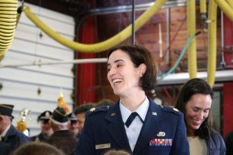 Air Force Major Kristin Hort. PHOTO BY JOYCE PELLINO CRANE
