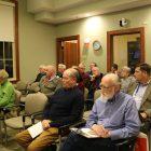 Attendees at the Board of Selectmen meeting on Nov. 14. PHOTO BY JOYCE PELLINO CRANE