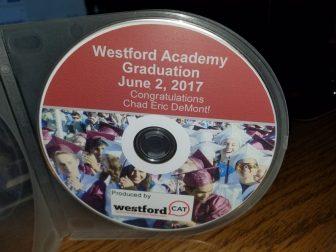 Graduation DVD.