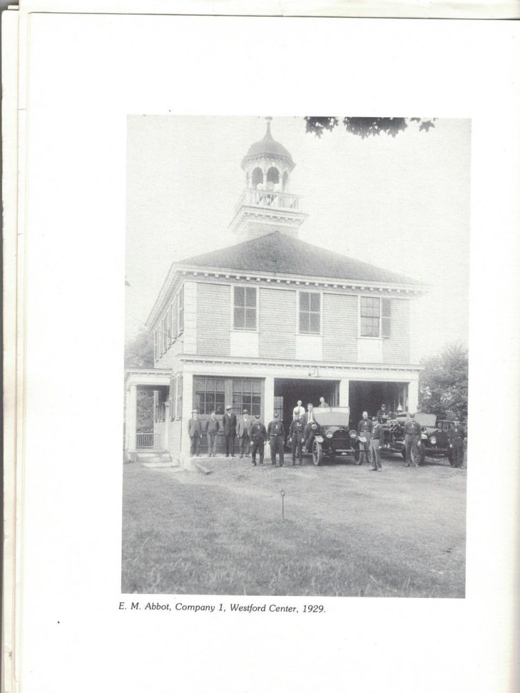 History of the Westford Fire Department. PHOTO BY PATTY STOCKER