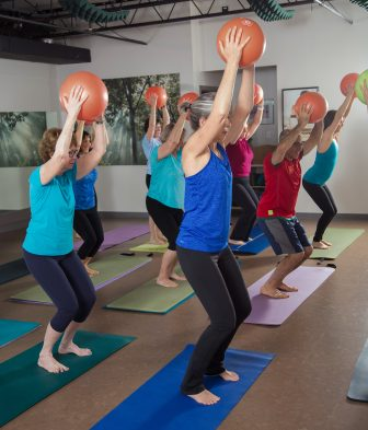 Class participants at Westford Pilates and Yoga. COURTESY PHOTO