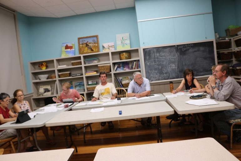The Agricultural Commission strategizes how to revive the farmers market. PHOTO BY JOYCE PELLINO CRANE