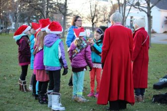 The Girl Scouts will spearhead the annual Tree-lighting ceremony in the town Common on Nov. 25. COURTESY PHOTO