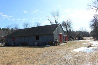 The barn will not survive the construction project, according to Executive Pastor Matt Beattie. PHOTO BY JOYCE PELLINO CRANE
