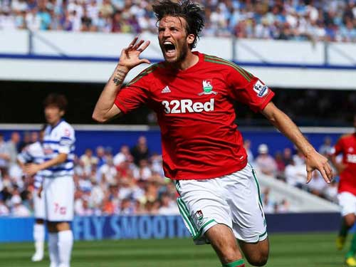 swansea city striker michu