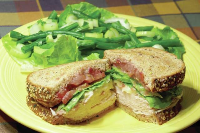 Twist on turkey sandwich perfect for leftovers